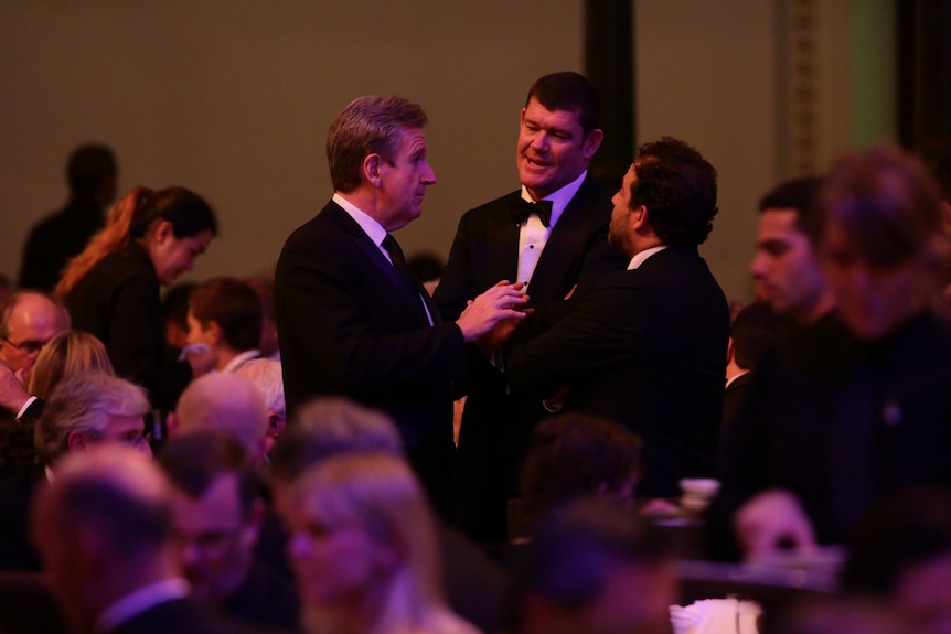 NSW premier Barry O'Farrell and James Packer
