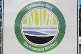 Centennial Coal sign