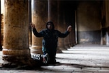 Pilgrims flock to the Church of the Nativity in Bethlehem (Getty Images)