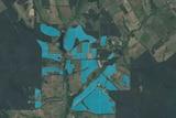 Margaret River vineyard scan using geospatial imagery