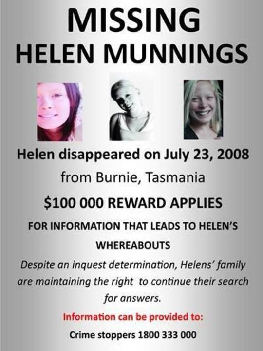 Helen Munnings notice