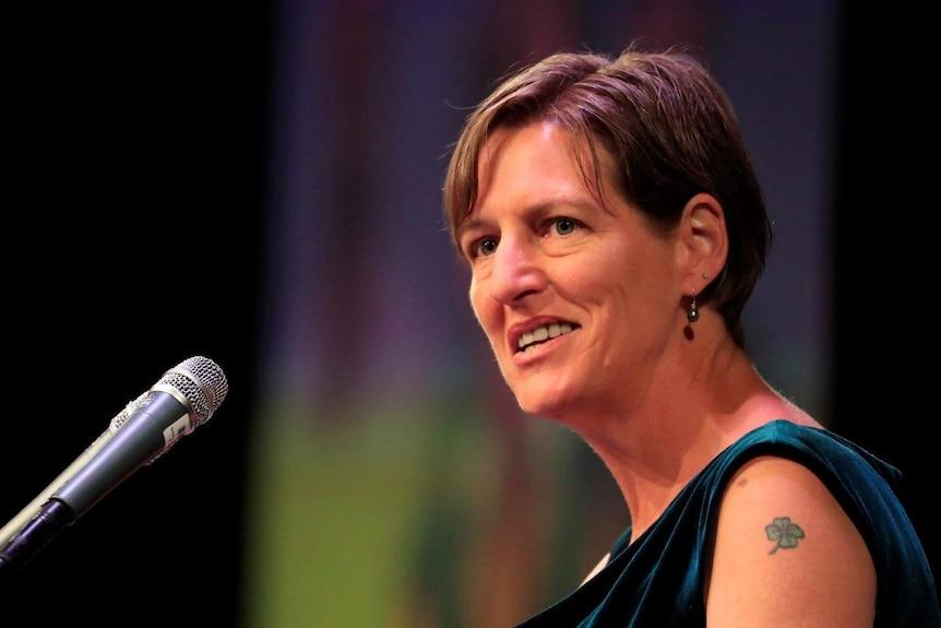 Greens leader Cassy O'Connor