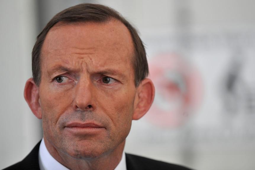 Opposition leader Tony Abbott (AAP: Paul Miller)