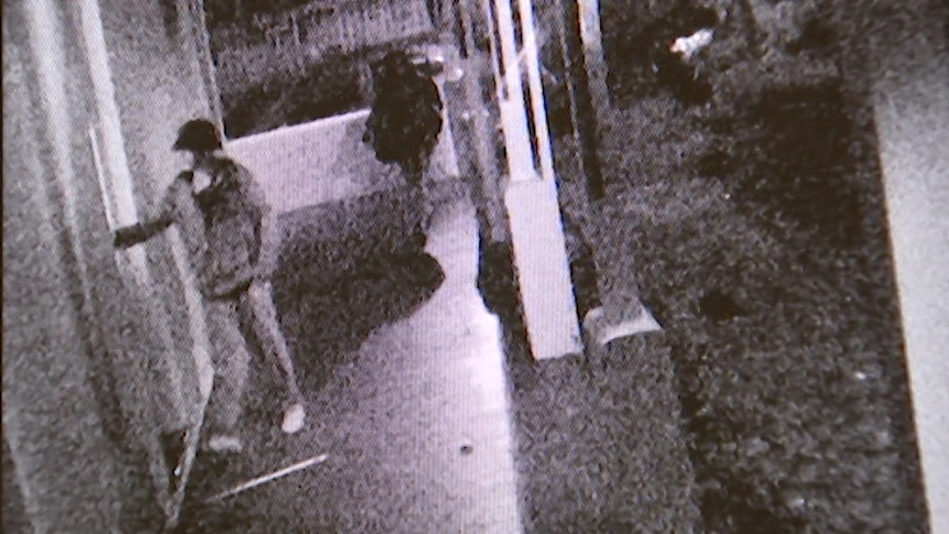 CCTV from the night MK overdosed shows young men climbing into Gordon House group home