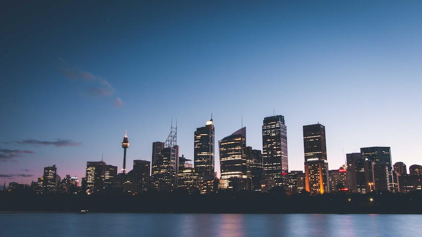 A view of the Sydney skyline