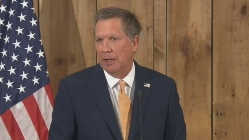 Way clear for Donald Trump as John Kasich withdraws from race