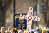 Each year, anti-abortion demonstrators march on the anniversary of the court decision