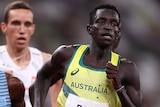 Peter Bol in 800m Tokyo Olympics final