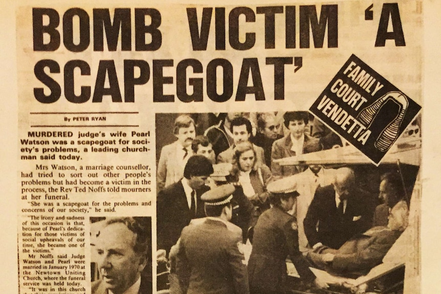 The Sun newspaper report on Pearl Watson's funeral