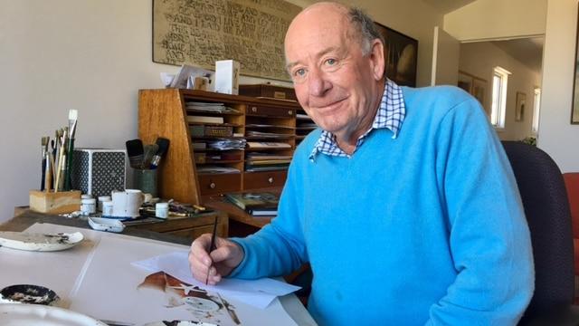 Artist, illustrator Robert Ingpen