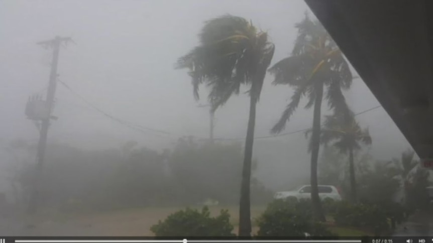 Cyclone Marcia hits Central Queensland