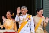 King Maha Vajiralongkorn, Queen Suthida and Princess Bajrakitiyabha