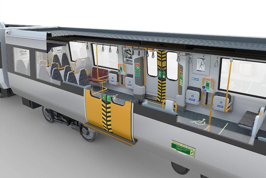 Internal view of NGR carriage