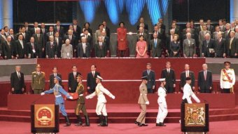 Hong Kong's 1997 handover ceremony