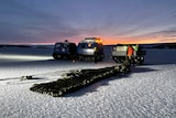 Critical supplies delivered to Mawson station on Antarctica
