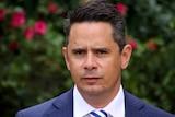 A head and shoulders shot of WA Treasurer Ben Wyatt.