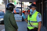 Police checks in Newtown