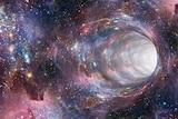 Space black hole or wormhole, generic image.