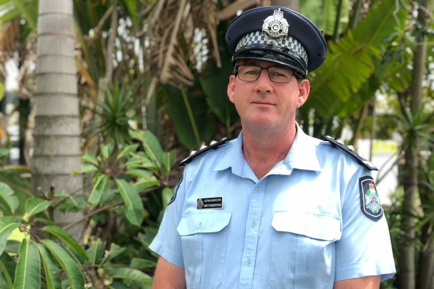 A police officer in uniform