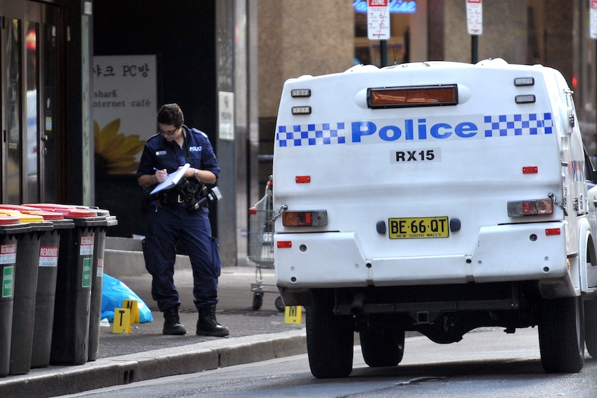 Police have yet to confirm whether the man killed by a Taser was involved in the robbery.