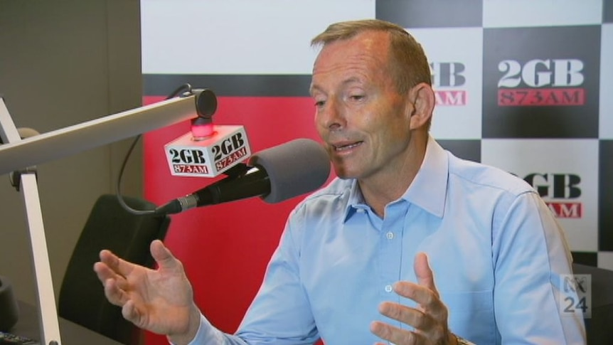 Tony Abbott calls for unity in the Liberal Party