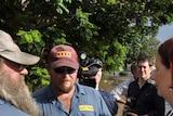 Julia Gillard visits Rockhampton floods