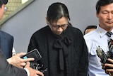Cho Hyun-Ah leaves court after release from jail over nut rage scandal