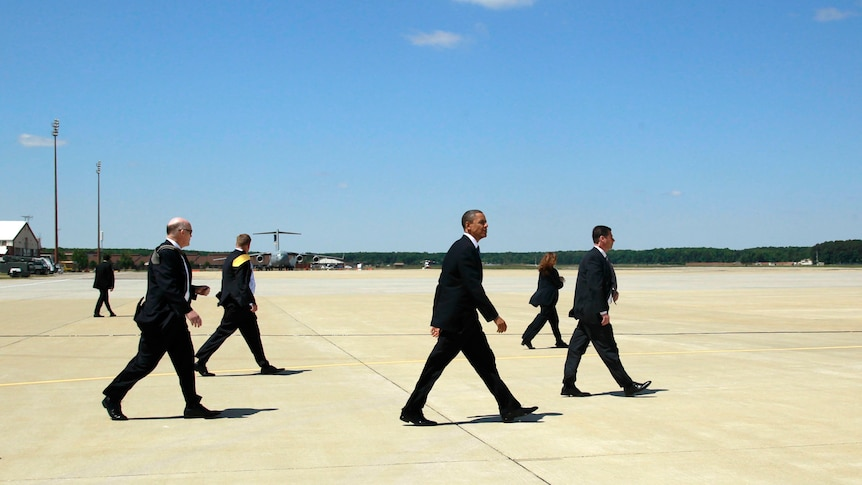 Security heightens for Obama visit