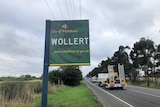 Wollert town sign in Melbourne's north