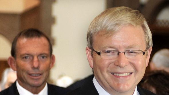 Tony Abbott, like Kevin Rudd in 2007, has shown he's prepared to sacrifice policy for politics (AAP)
