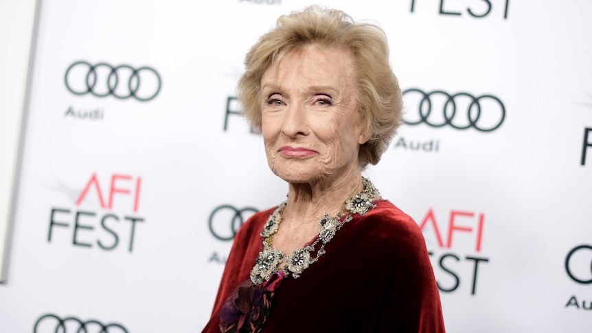 "Cloris Leachman attends the premiere of ""The Comedian"" during the 2016 AFI Fest."