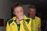 Shattered... Sally Pearson had the victory taken away from her following a four-hour deliberation