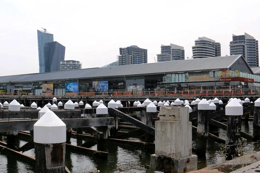 Central Pier at Docklands.