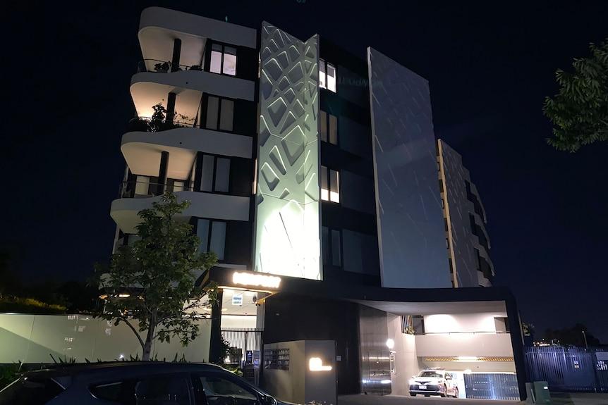 Newport Hamilton Apartments on Brisbane's riverside