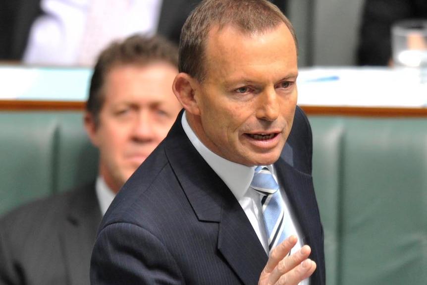 Tony Abbott delivers carbon tax speech