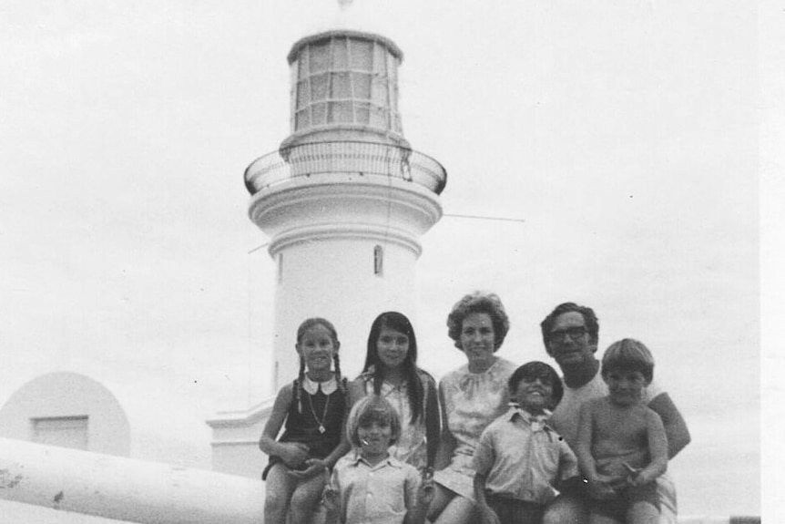The Ross Family at South Solitary Lighthouse