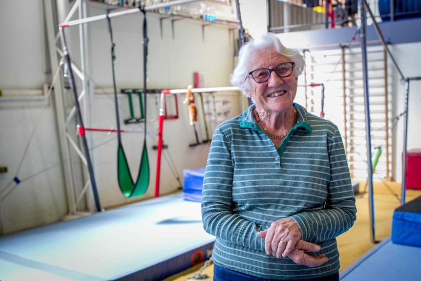 Netta Obst at the gym in Toowoomba.