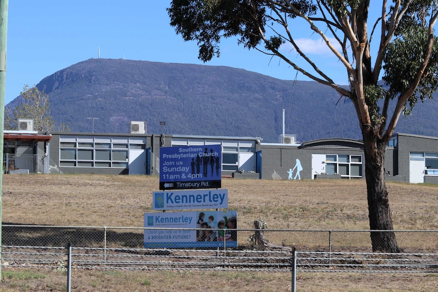 Kennerley Childrens' Home sign
