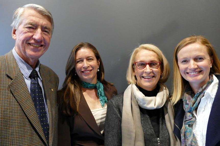 Don, Susan, Chris and Julie McDonald together