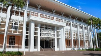 The NT Parliament building in Darwin