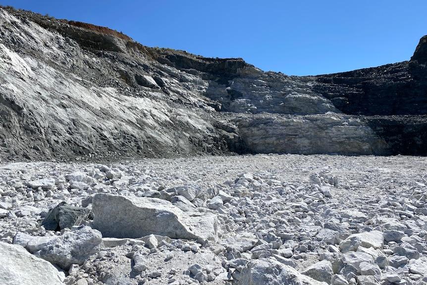 lithium mine pit