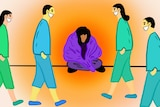 Illustrations of Beatrice Christian who says in the time of coronavirus, people who are homeless need urgent help