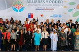 Official picture of the UN World Summit Meeting on Women and Power in Santiago