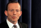 Mr Abbott says he was talking yesterday about the different ways of arriving at the 5 per cent target.