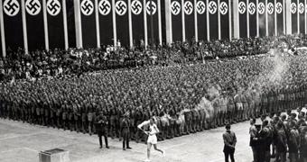 Adolf Hitler used the 1936 Olympics in Berlin as a Nazi propaganda tool.