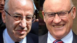 Former NSW Labor ministers Eddie Obeid and Ian McDonald.