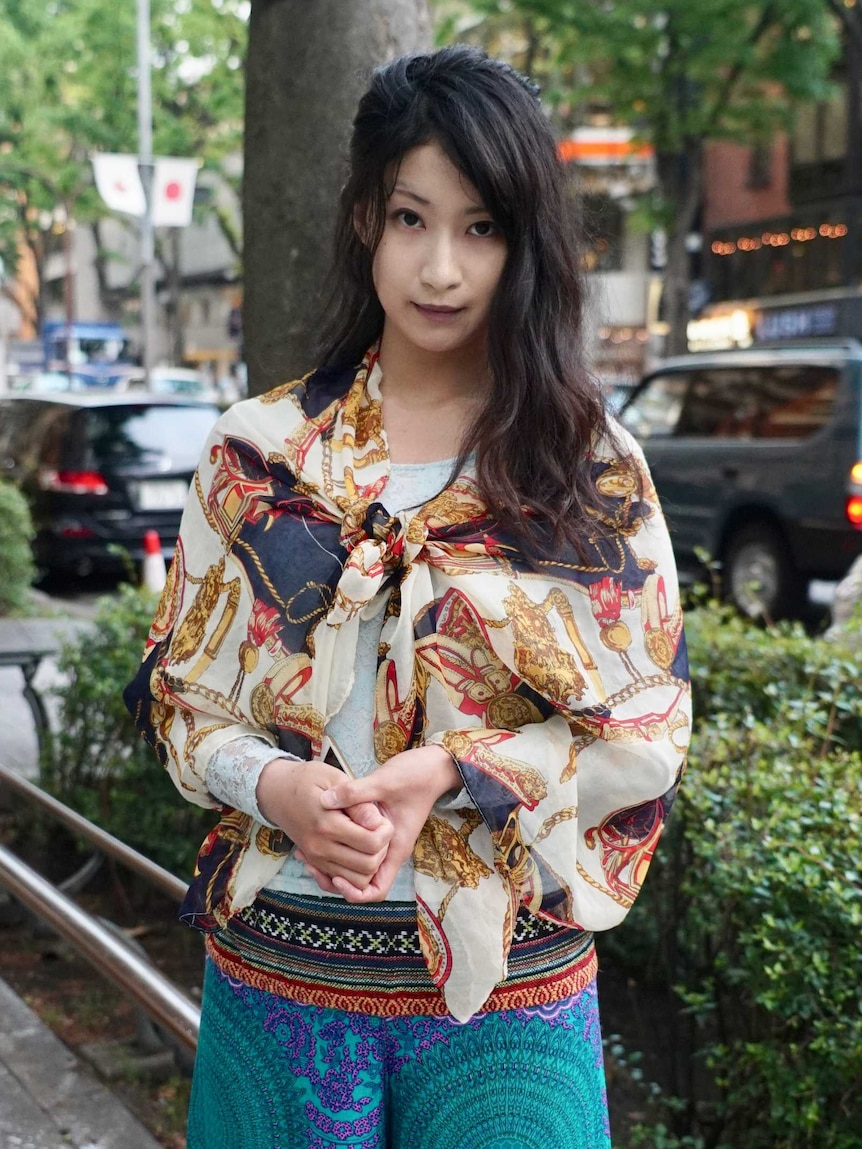 Cute Japanese Young Girl