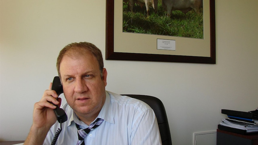 David Inall, chief executive of the Cattle Counci of Australia