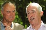 Malcolm Turnbull and John Alexander