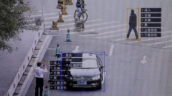 Surveillance software identifies details about people and vehicles in Beijing.